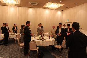 釜石商工会議所澤田副会頭より乾杯のご発声をいただいた