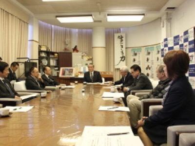 釜石市東部地区の環境整備に関する要望を行いました。