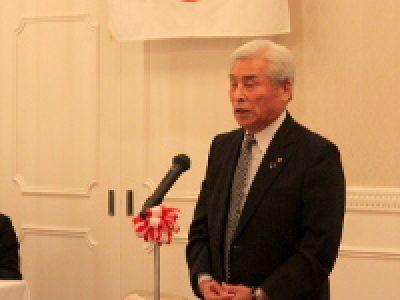 臨時議員総会を開催、山崎会頭が再任されました。