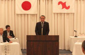 来賓の野田釜石市長より祝辞をいただきました。